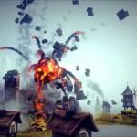 爆発しそうな城攻兵器を作るゲームBesiege レゴのように組み立てて物理演算で動く